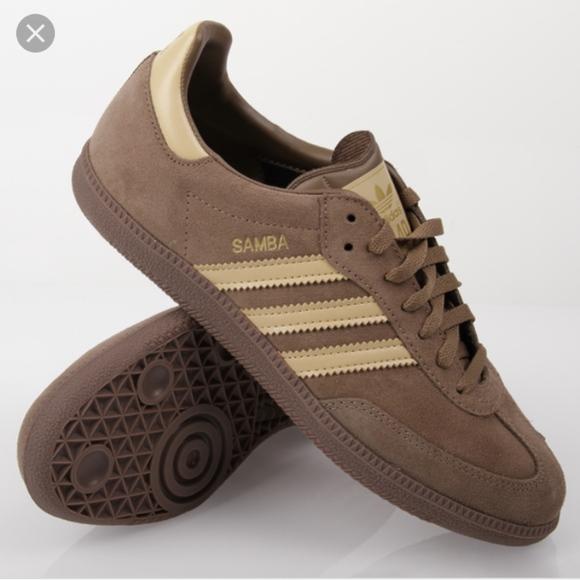 adidas Other - Adidas Samba Classic Brown Suede Shoes 0e04bfe76da7